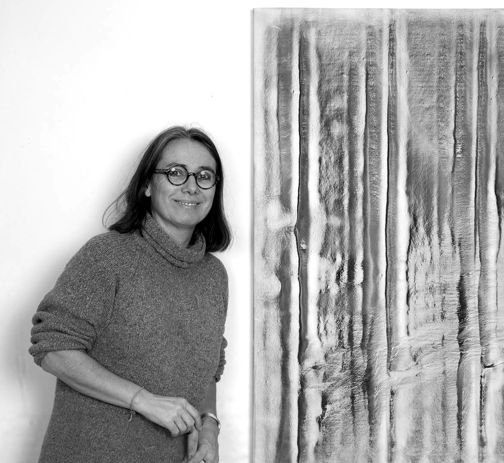 Vicky Colombet PAINTER PAINTER VICKY COLOMBET will work with the Shillim-area community to produce pigments made from local stone, clay, soils and plants, which she will deploy in drawings and paintings. Colombet's work is both abstract and suggestive of landscapes, topographies, the erosion of the earth and its ephemeral elements. Her work will be exhibited alongside the landscape paintings of Claude Monet atthe Musée Marmottan-Monet in Paris in 2019. Learn More