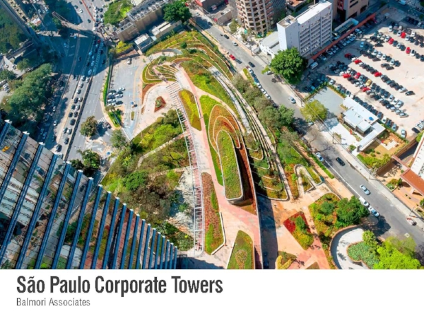 sao paulo corporate towers featured in world landscape architecture