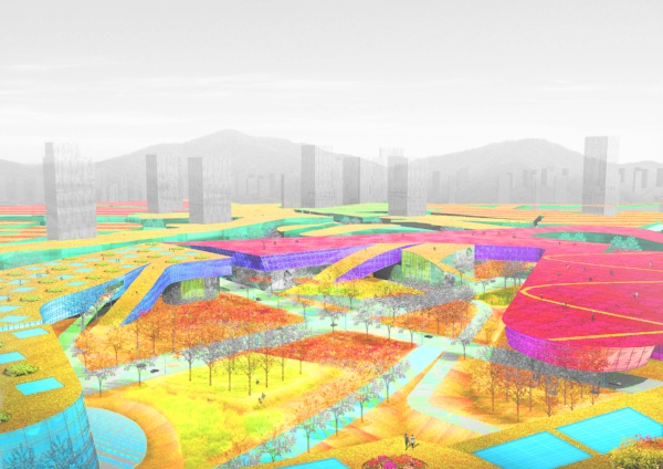 - Green roofs became the design guidelines to shape a city in Sejong, Korea.Read more about New Government City Master Plan