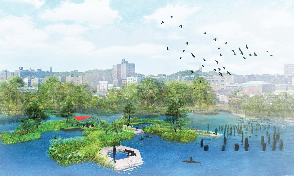 - BAL-LAB participated at the Inwood's North Cove Community Design Workshop last September in advocacy of the remediation of that area for wildlife support through the implementation of Floating Islands.Many thanks to James Cataldi. Take a look at the video