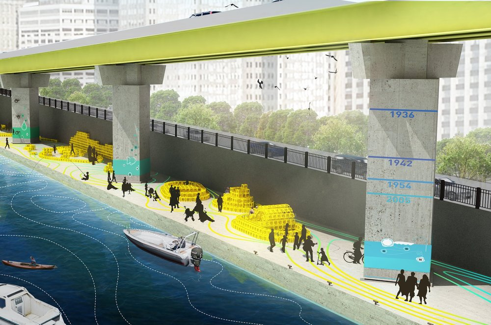 - For Riverlife 'to-be-determined' Balmori proposes a temporary installation for Pittsburgh's waterfront: Grow With The Flow .