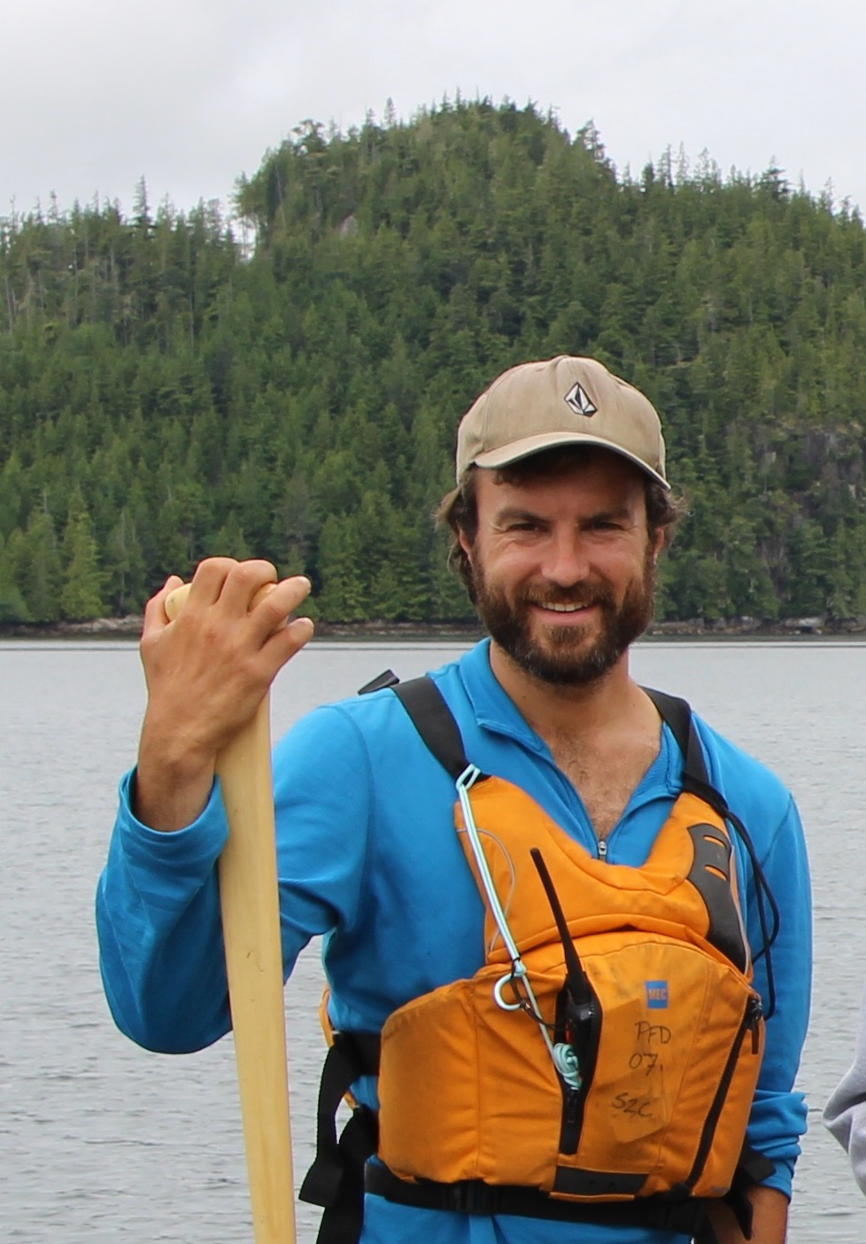Shawn Kangro, Paddle Program Instructor