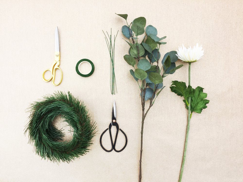 Paper Craft Pantry Blog DIY Wreath