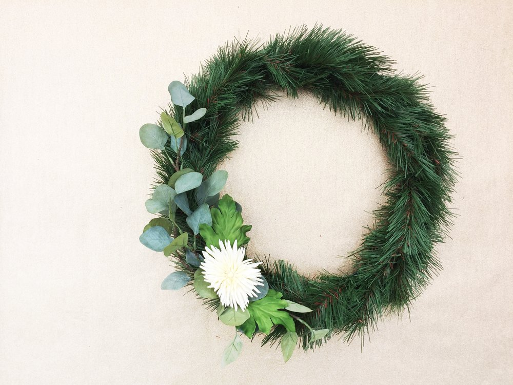 Paper Craft Pantry Blog DIY Seasonal Wreath