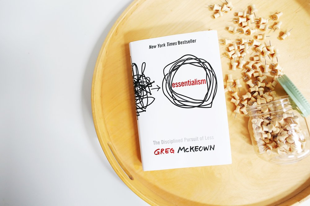 Paper Craft Pantry ATX Monthly Book Club Essentialism Greg McKeown