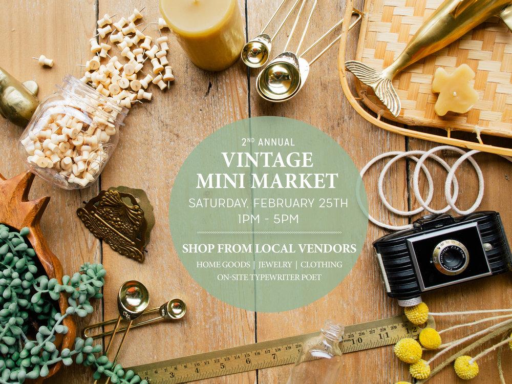 Paper Craft Pantry Vintage Mini Market Pop-Up Event in Austin, Texas