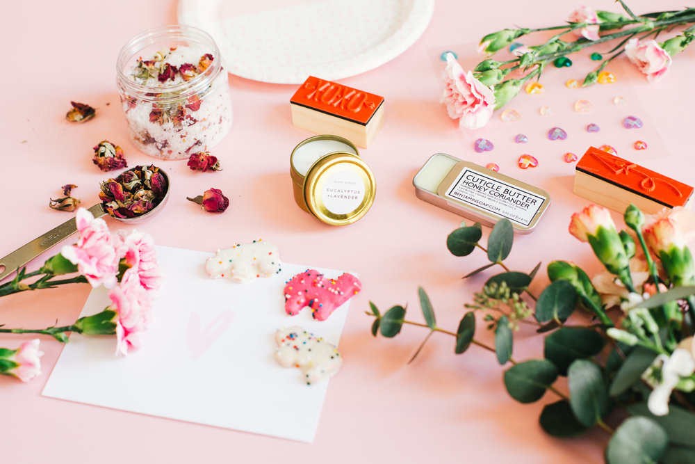 Paper Craft Pantry Galentine's Party Sponsored Goody Bags Partnerships