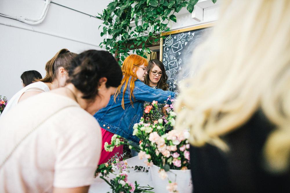 D.I.Y. Floral and Flower Bar