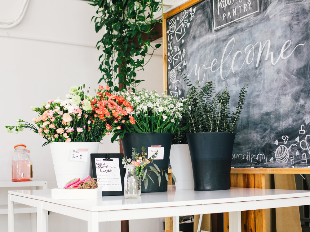The Paper + Craft Pantry Flower Bouquets