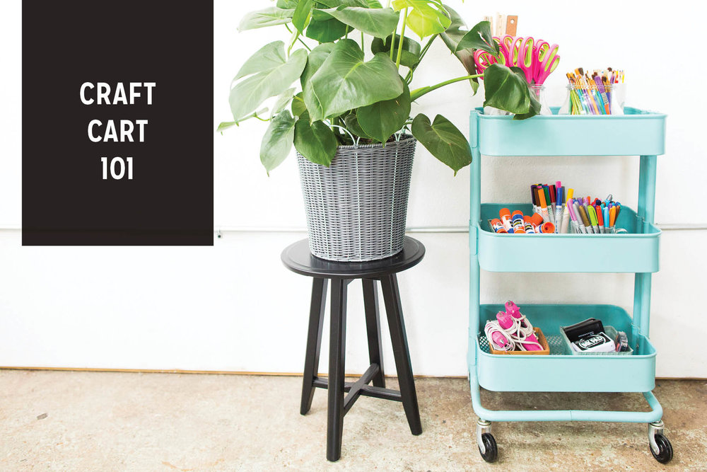 Paper Craft Pantry Blog How-to Curate A Craft Cart