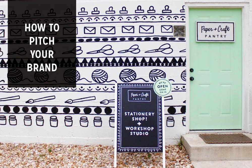 The Paper Craft Pantry Blog How to Pitch Your Brand to Retail