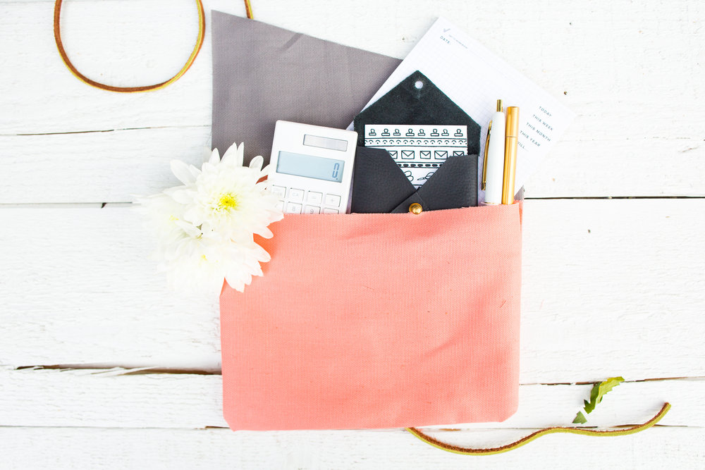 Paper Craft Pantry Austin Blog DIY Pencil Pouch Every Day Clutch