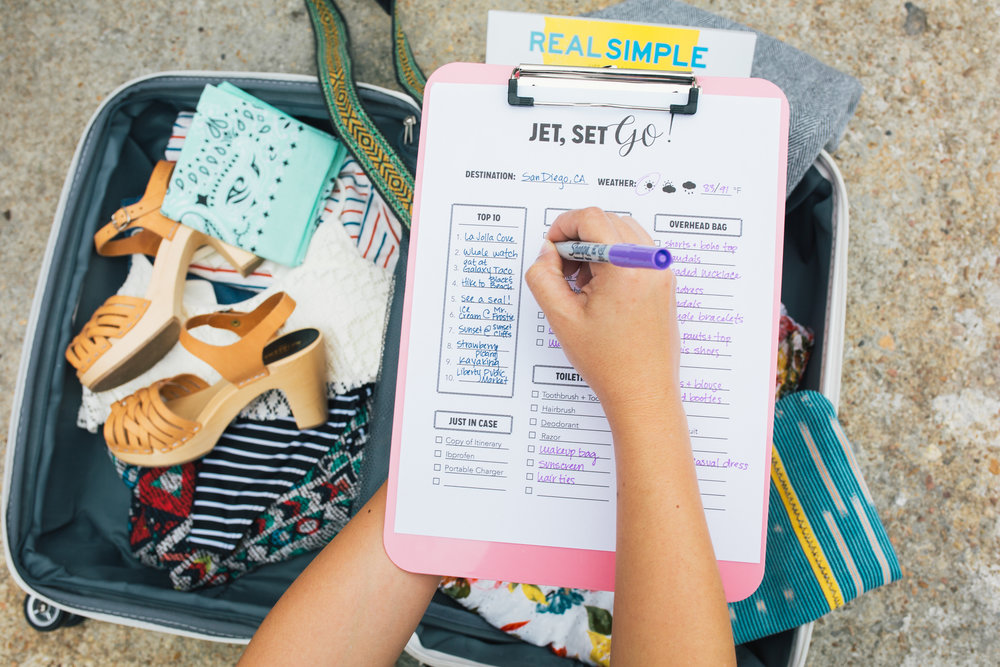 Paper Craft Pantry Austin Blog Travel Checklist Download