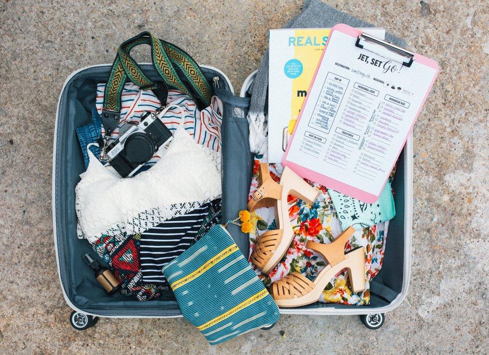 Paper Craft Pantry Austin Blog Travel Checklist Printable