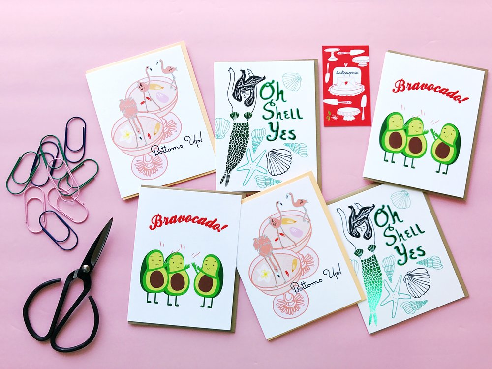 September Pen Pal Party with I Loot Paperie at The Paper + Craft Pantry