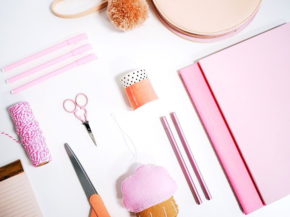 The Paper+Craft Pantry How-To Perfect Your Instagram Flat Lays