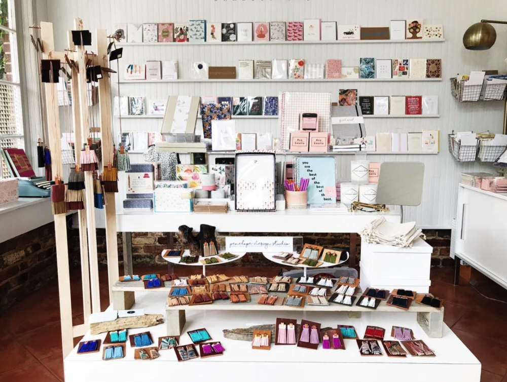 The Paper + Craft Pantry's must visit local stationery and paper shop.