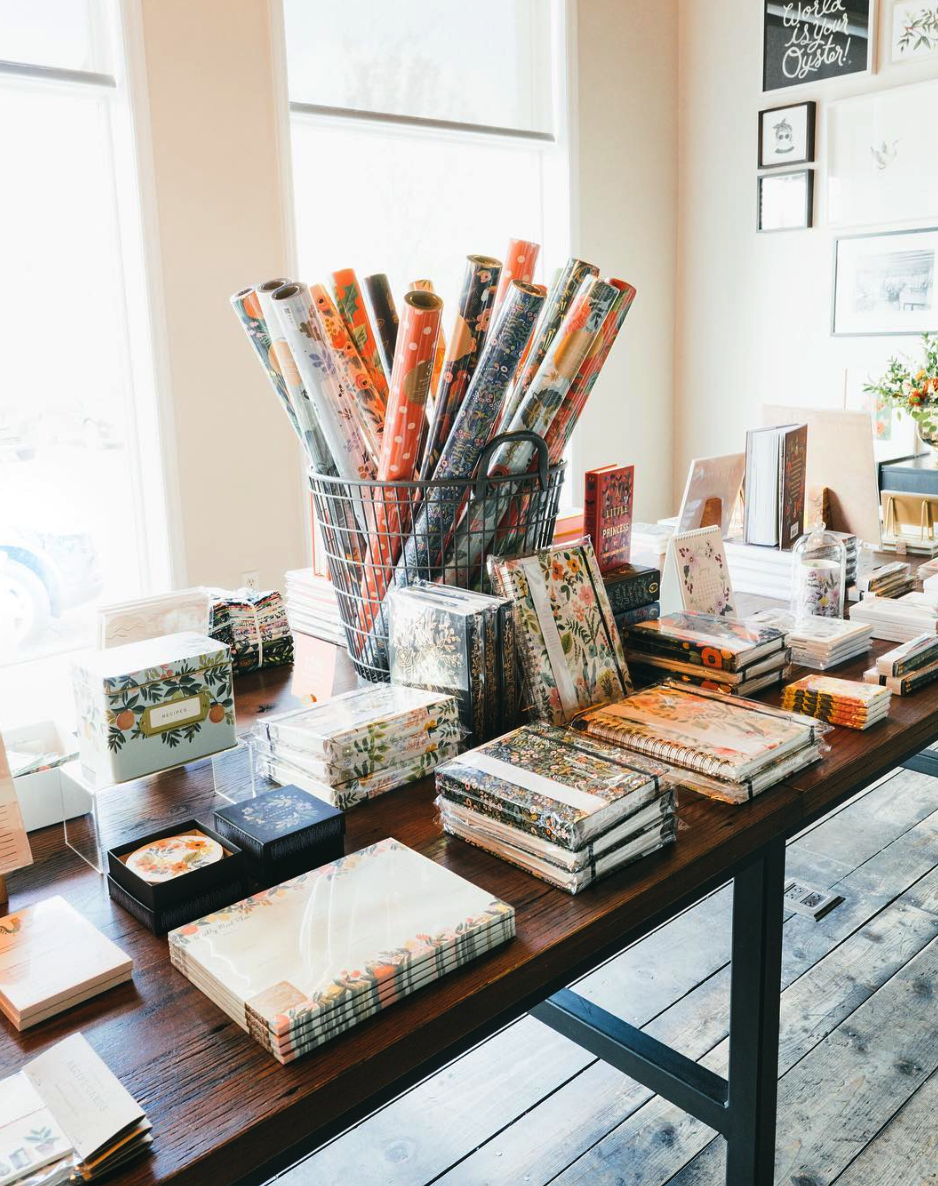 The Paper + Craft Pantry's favorite paper shop: Rifle Paper Co.