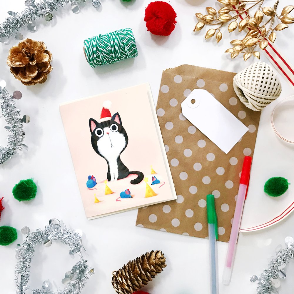 December Community Pen Pal Party with Little Red House at The Paper + Craft Pantry
