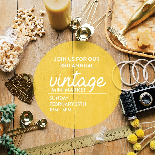 Paper Craft Pantry Vintage Mini Market Pop-Up Event in Austin, Texas