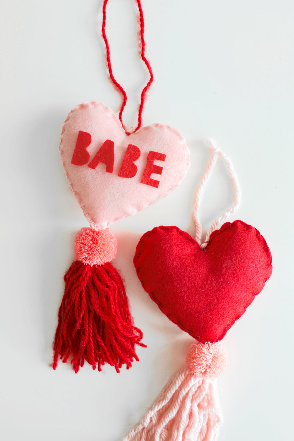 Paper Craft Pantry Blog: 2018 Valentine's D.I.Y Round Up Babe Heart Tassel