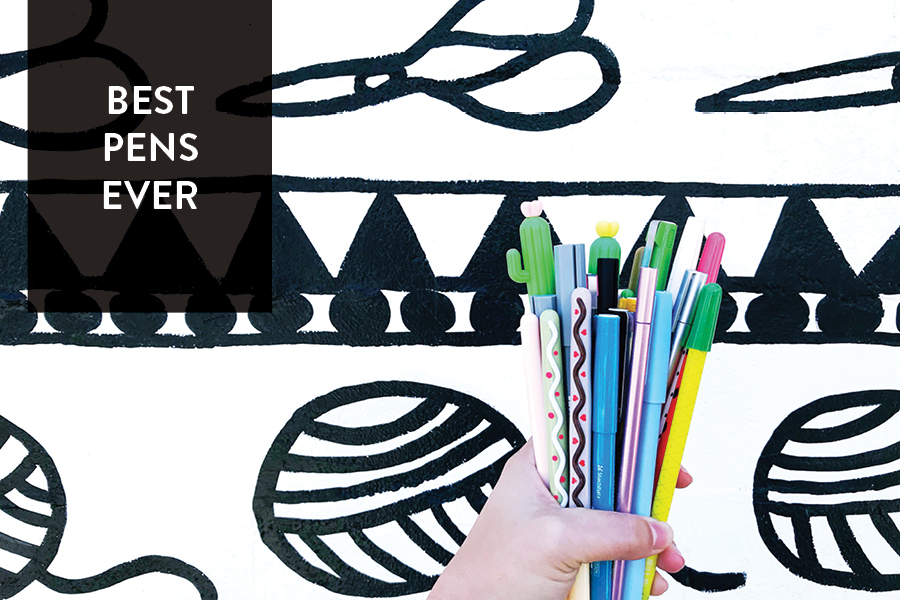 Paper Craft Pantry Blog Favorite Pens Round Up
