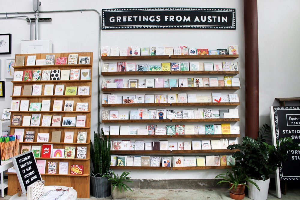 The Paper + Craft Pantry Blog: One last look at our card wall all filled up.