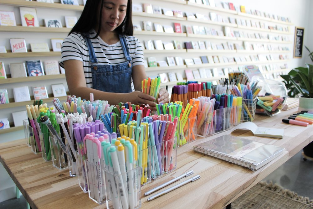The Paper + Craft Pantry: New East Austin Shop + Studio.
