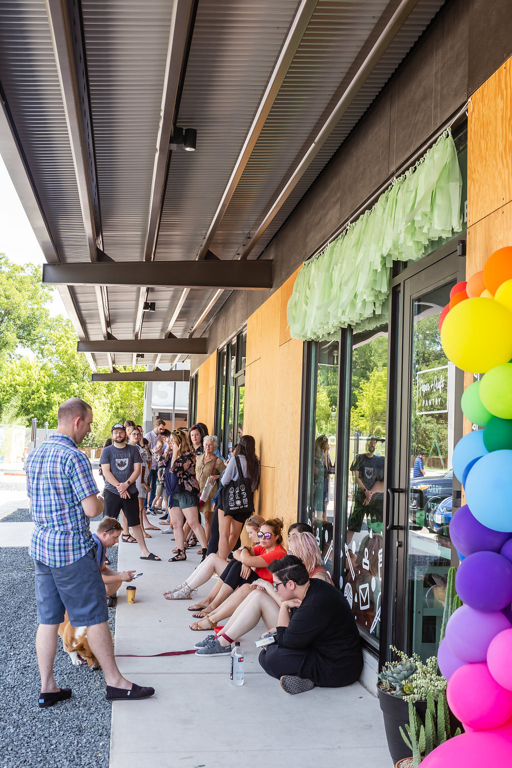 The Paper + Craft Pantry's new location in East Austin.