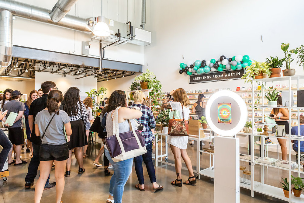 The Paper + Craft Pantry: Austin's best workshop studio officially re-opens!