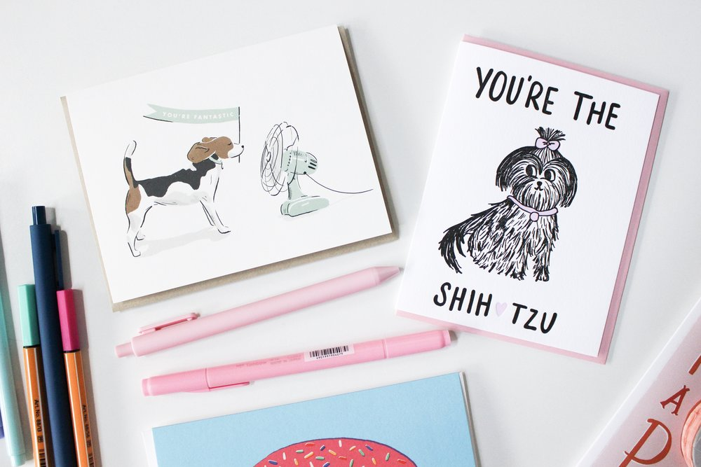 The Paper + Craft Pantry Blog: 2 of our favorite dog cards.