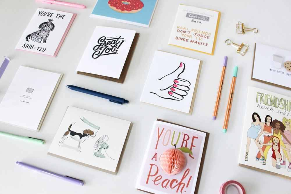 The Paper + Craft blog: A roundup of our favorite cards in Austin.