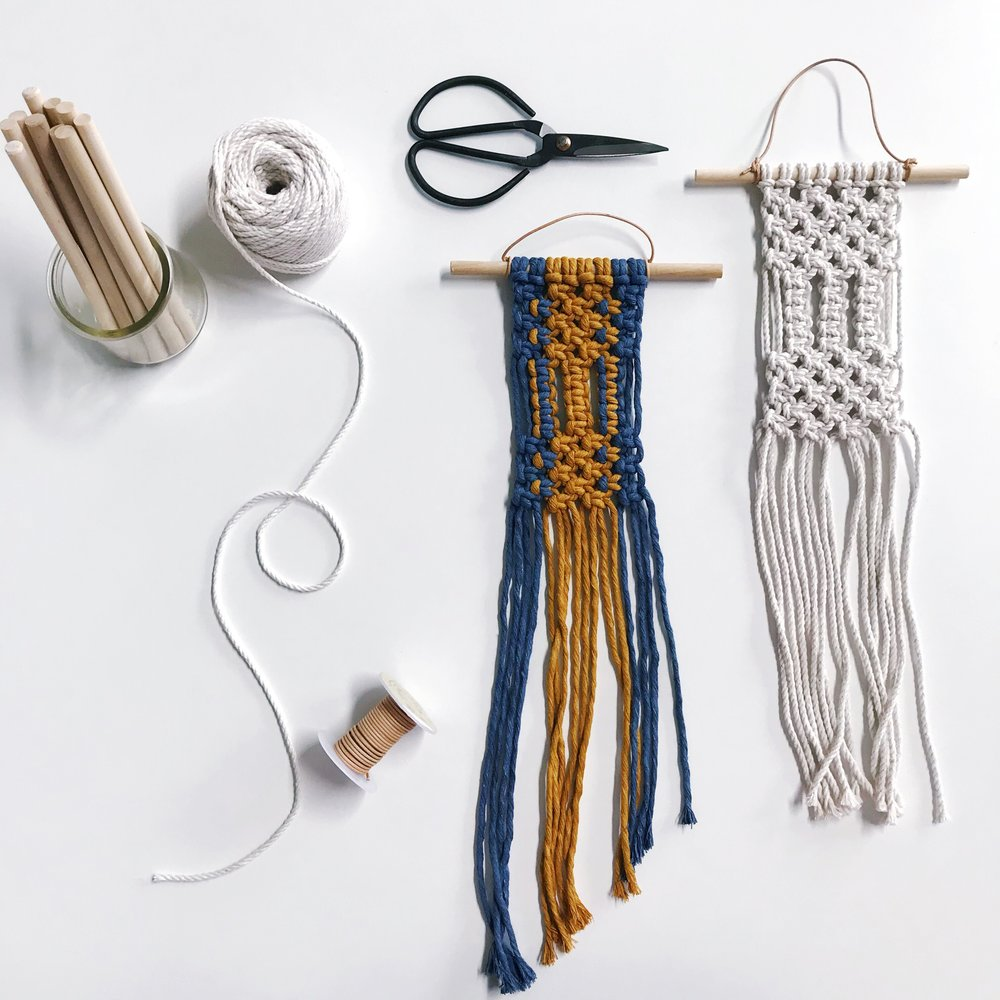 Hotel Ella Workshop Summer Series: Mini Macrame Tapestry