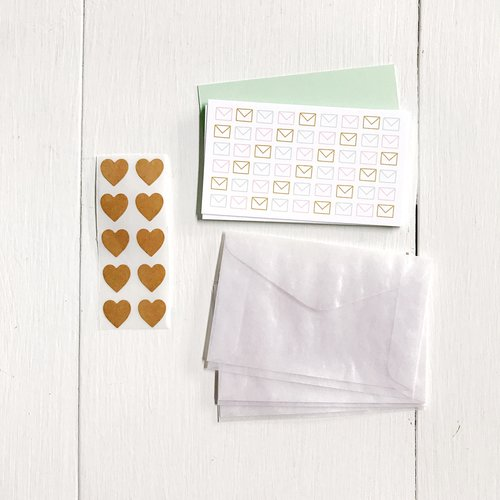 Mini Notes Boxed Set Envelopes The Paper Craft Pantry