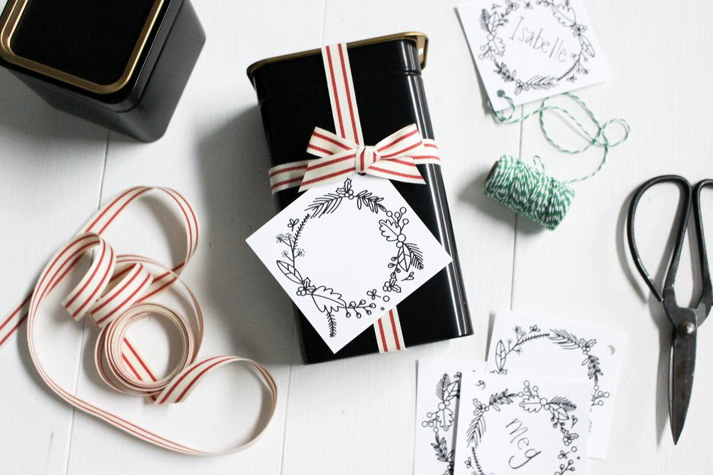 The Paper + Craft Pantry Blog: We also love using them as tags for gifts!