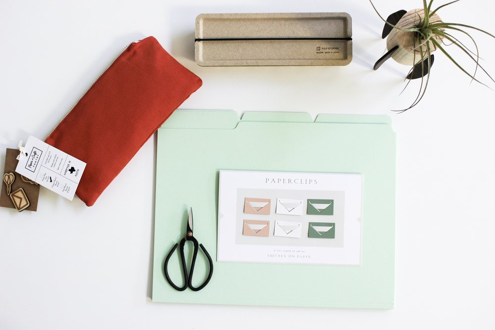 The Paper + Craft Pantry Blog: Some of our favorite desk supplies that help us stay inspired and productive.