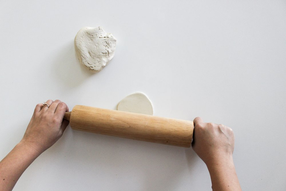 The Paper + Craft Pantry Blog: Rolling out the clay.