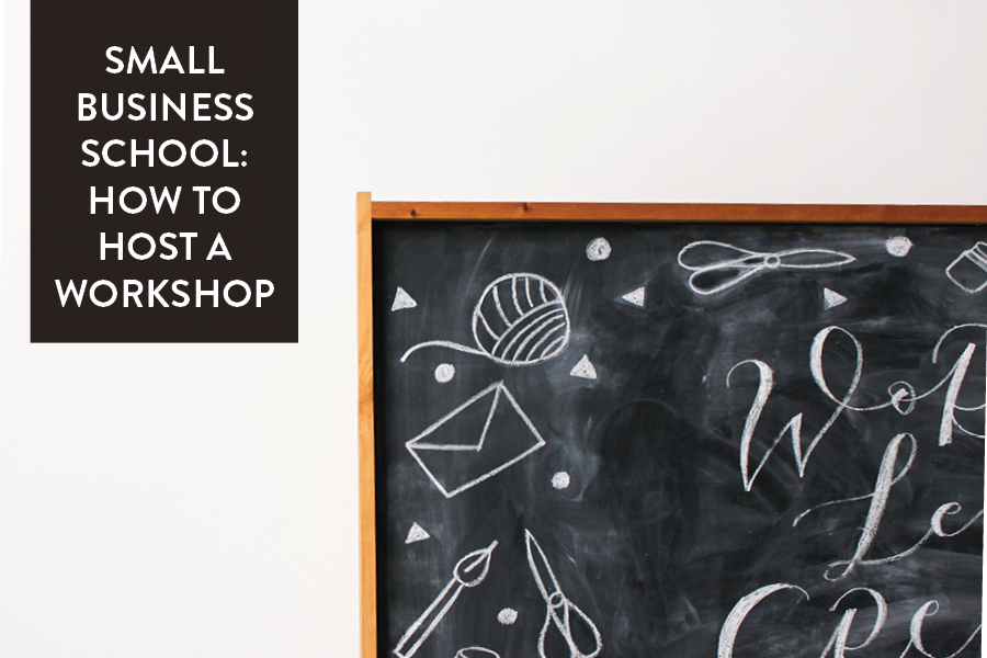 The Paper + Craft Pantry Small Business Blog: How To Host A Workshop