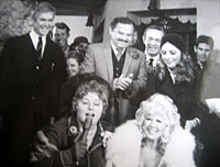 With Shelley Winters and Connie Stevens
