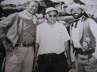 The Comancheros, with John Wayne