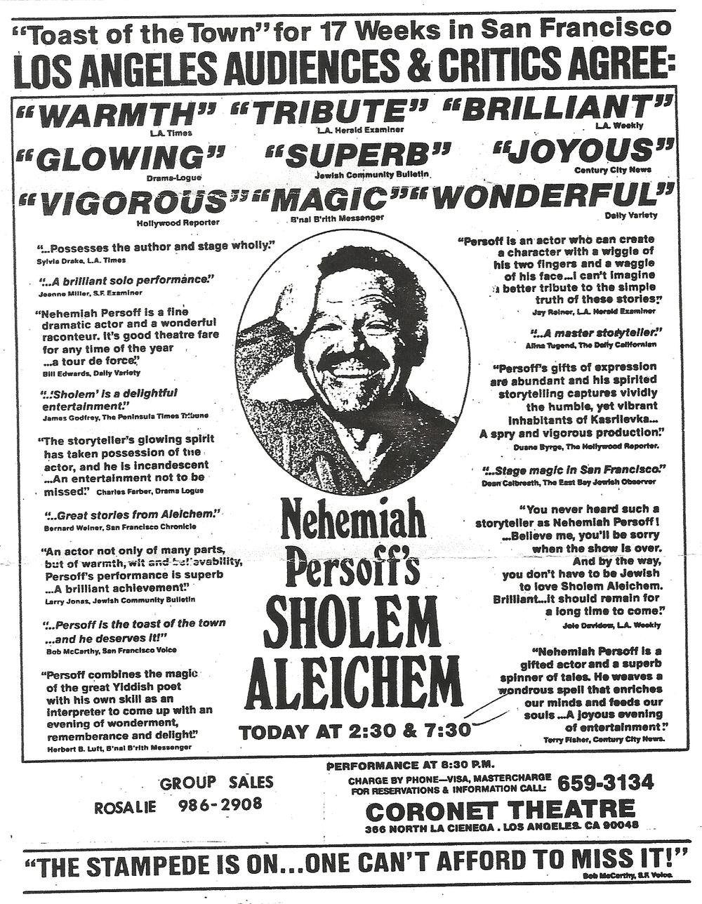 nehemiah persoff movies