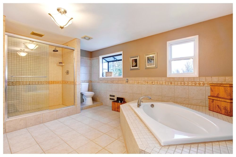 Pumpkin Ranch Master Bathroom
