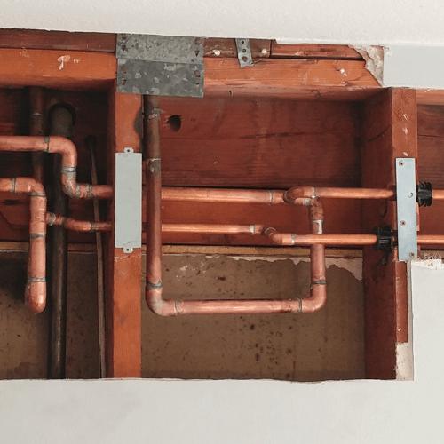 Fresh Water Copper Repipe