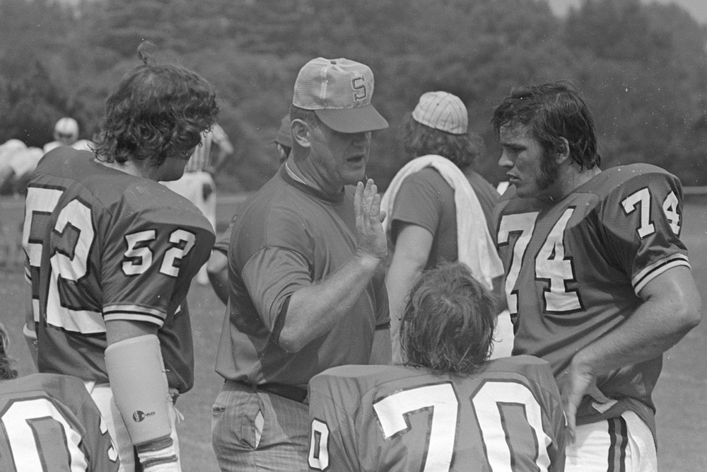 """""""Coach Don Lear"""" by Ed Uthmanis licensed under CC BY-SA 2.0."""