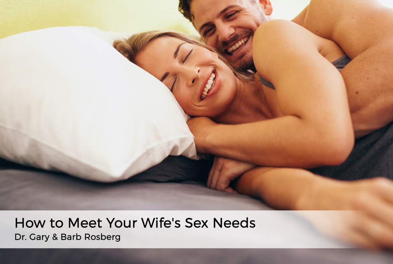 Discuss married sex about wife