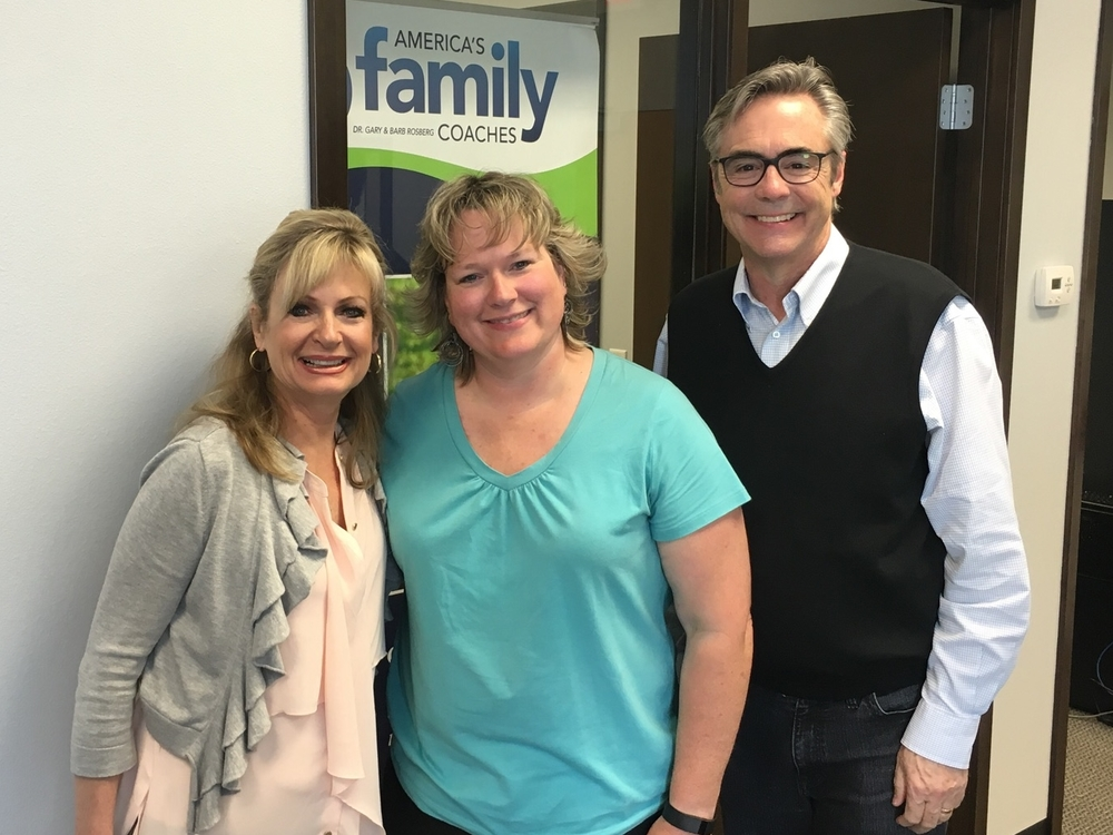 Barb and Gary with Beth Castile