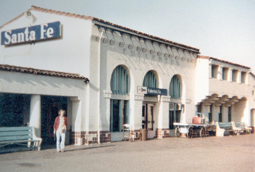 Santa Fe Depot, Fullerton
