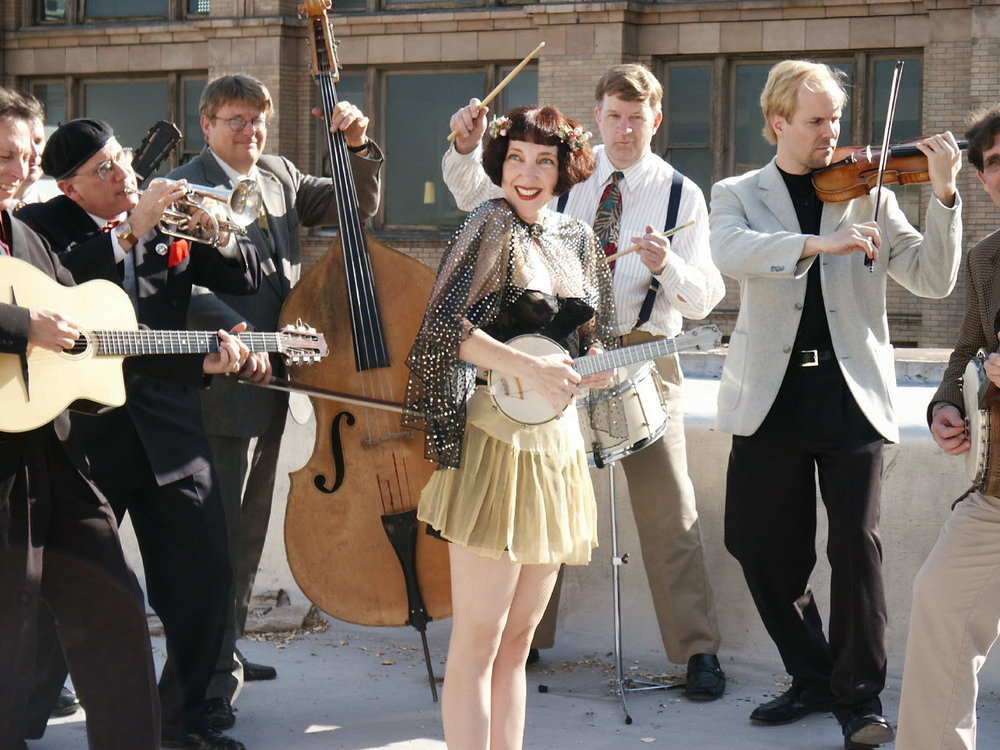 ON STAGE May 19: Janet Klein and Her Parlor Boys \ 11 a.m. - 1 p.m.  Janet Klein & Her Parlor Boys - Merrymakers of Whoopee and Purveyors of rare and scintillating Jazz, Vaudeville & Tin Pan Alley. 1920's and 30's hot, sweet and melodic music with new and fresh arrangements that will appeal to a modern ear!