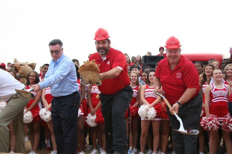 Crosby ISD Breaks Ground on New High School The Lake Houston Observer August 20, 2014
