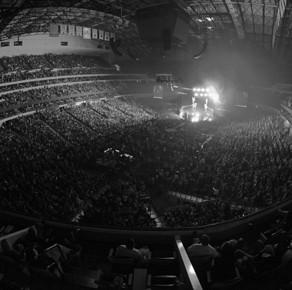 Here is a picture from the AA Center in Dallas, Feb 18th. Photo by @jdougy via Instagram